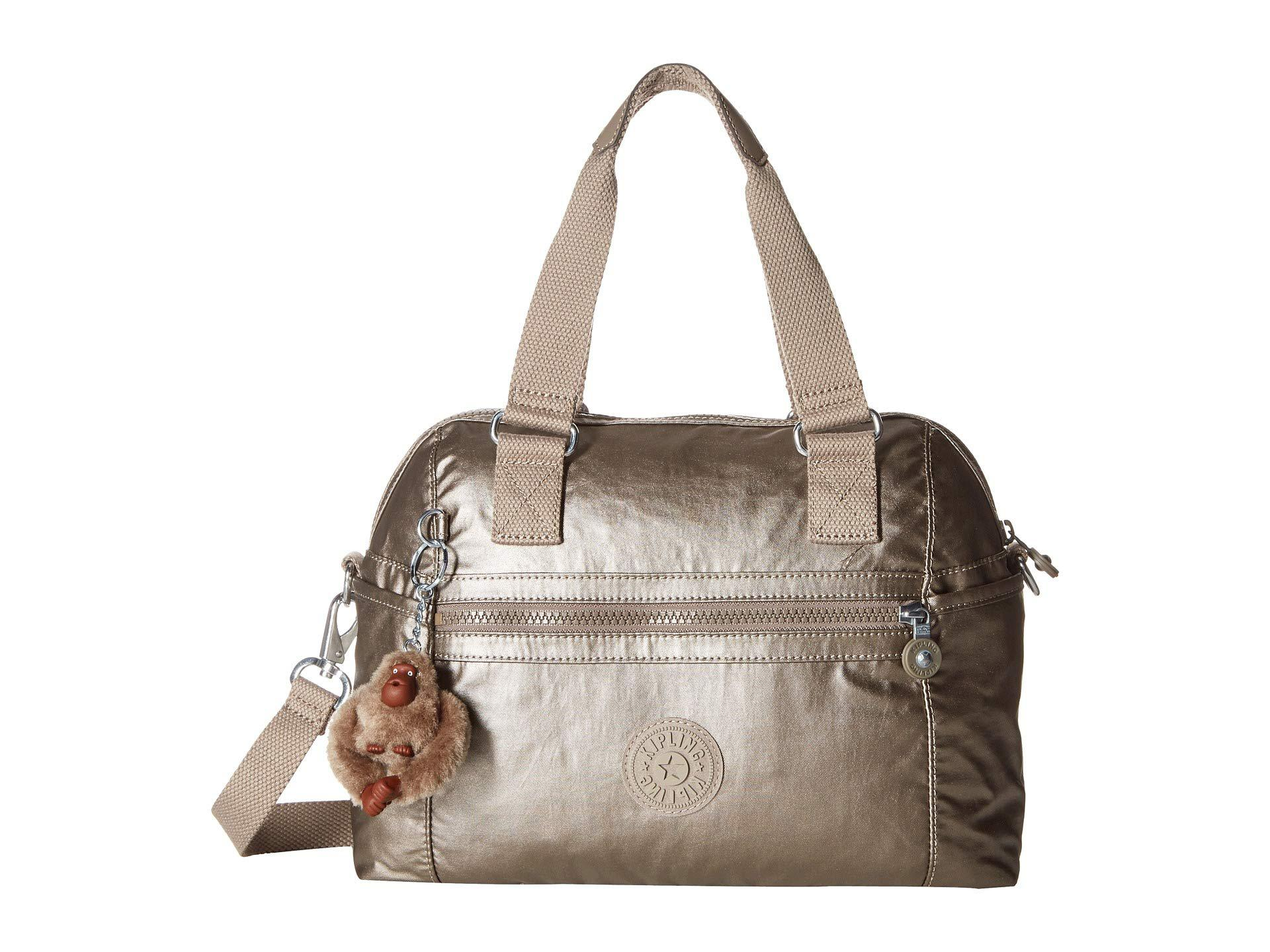 dfc9236dae Kipling Cora Handbag in Metallic - Save 31% - Lyst