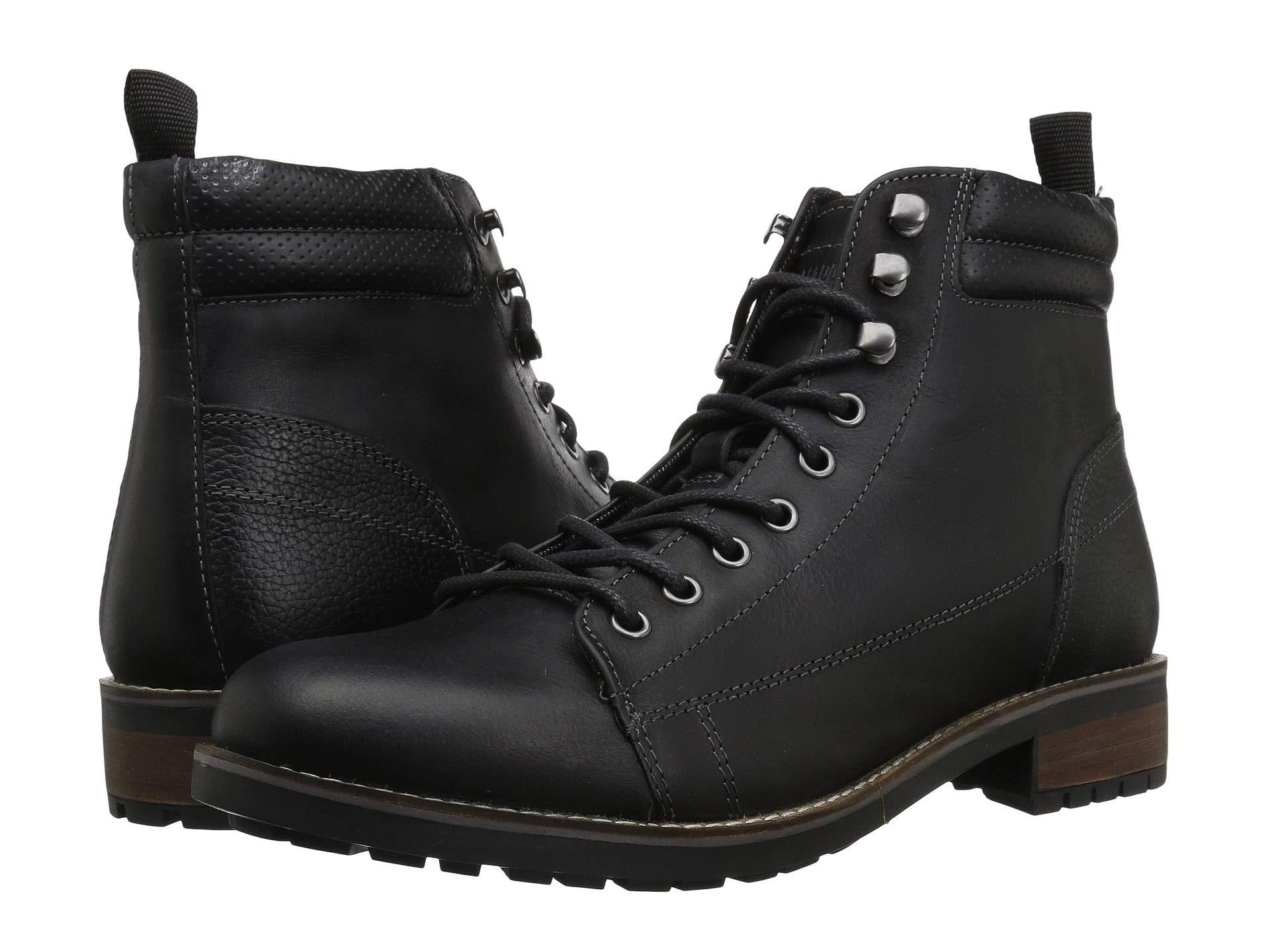 f5dff90dc62 Lyst - Steve Madden Lorne (cognac) Men s Boots in Black for Men