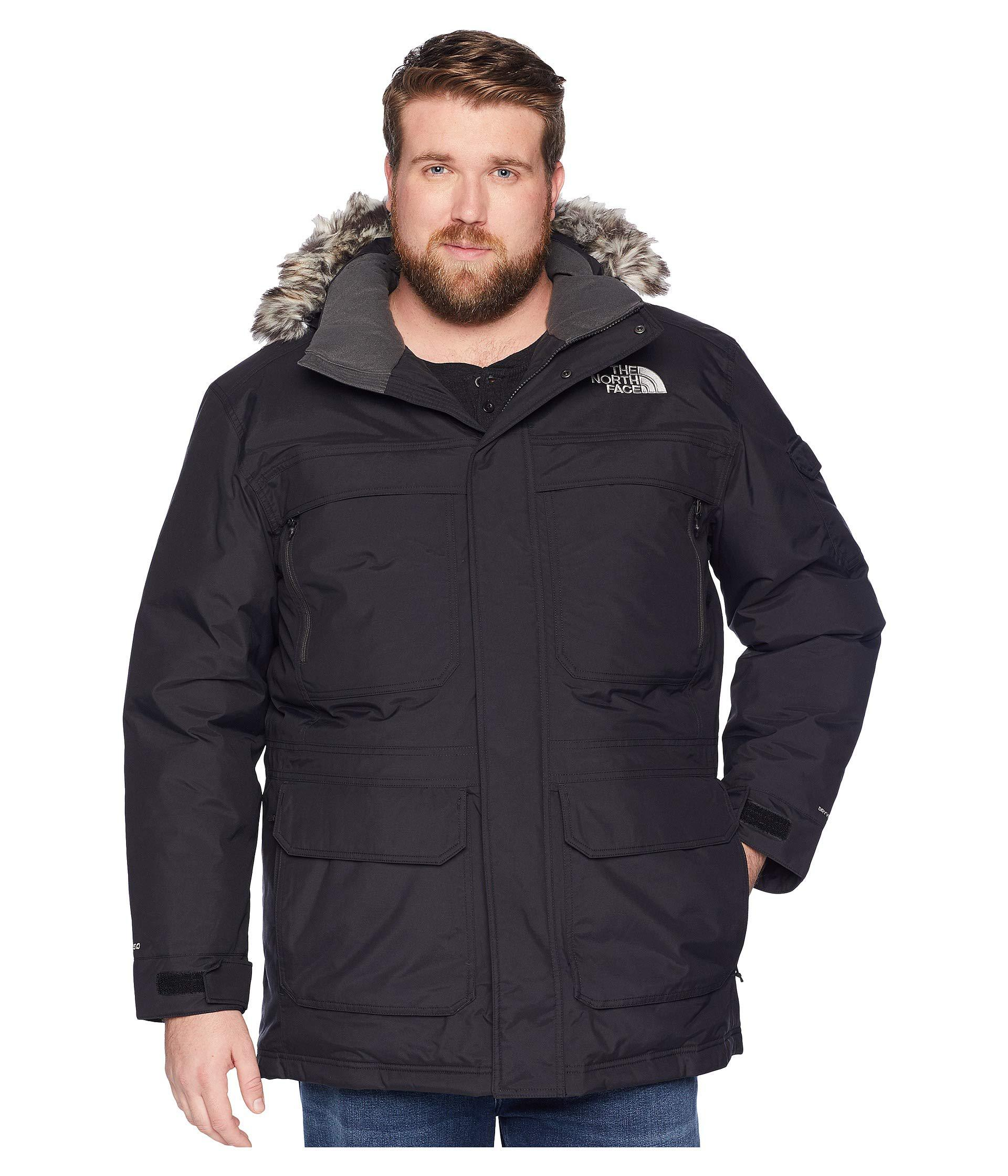 a7f22a6b87 Lyst - The North Face Big Tall Mcmurdo Parka Iii (tnf Black) Men s ...