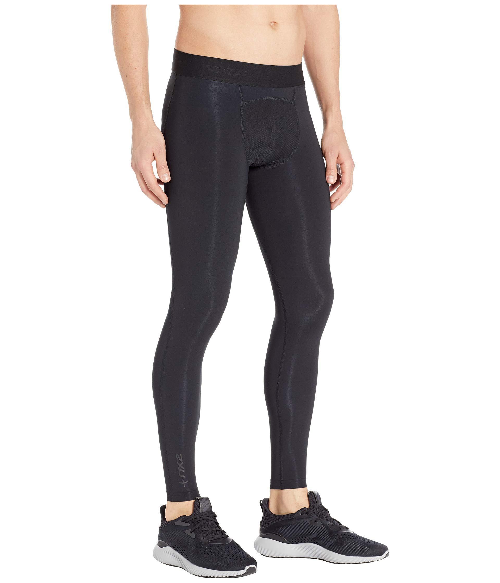 acd3154b8546c 2XU Flight Compression Tights (black/black) Men's Casual Pants in ...