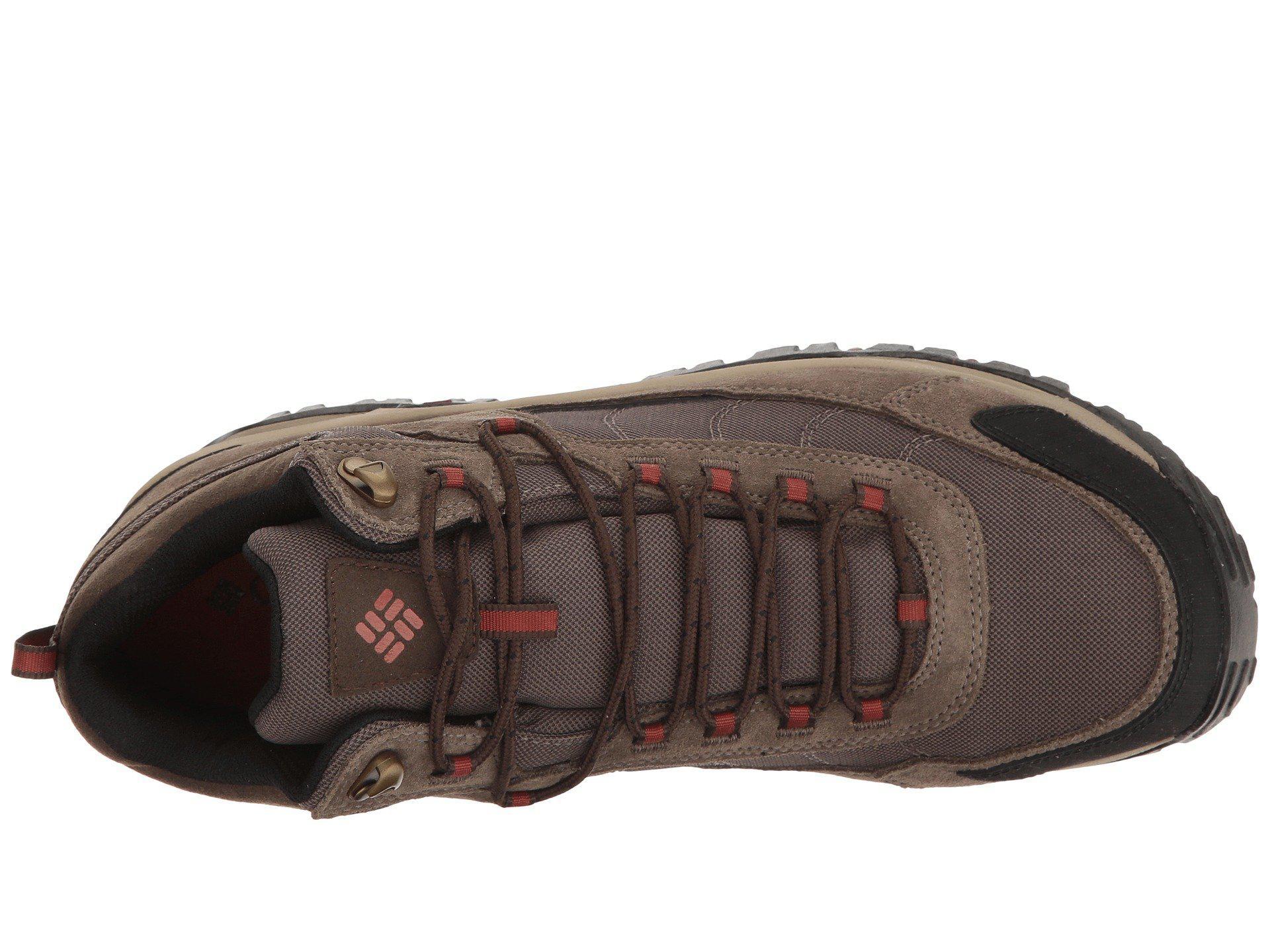 f87ff81054 Columbia - Brown Granite Ridge Mid Waterproof (dark Grey golden Yellow) Men s  Shoes. View fullscreen