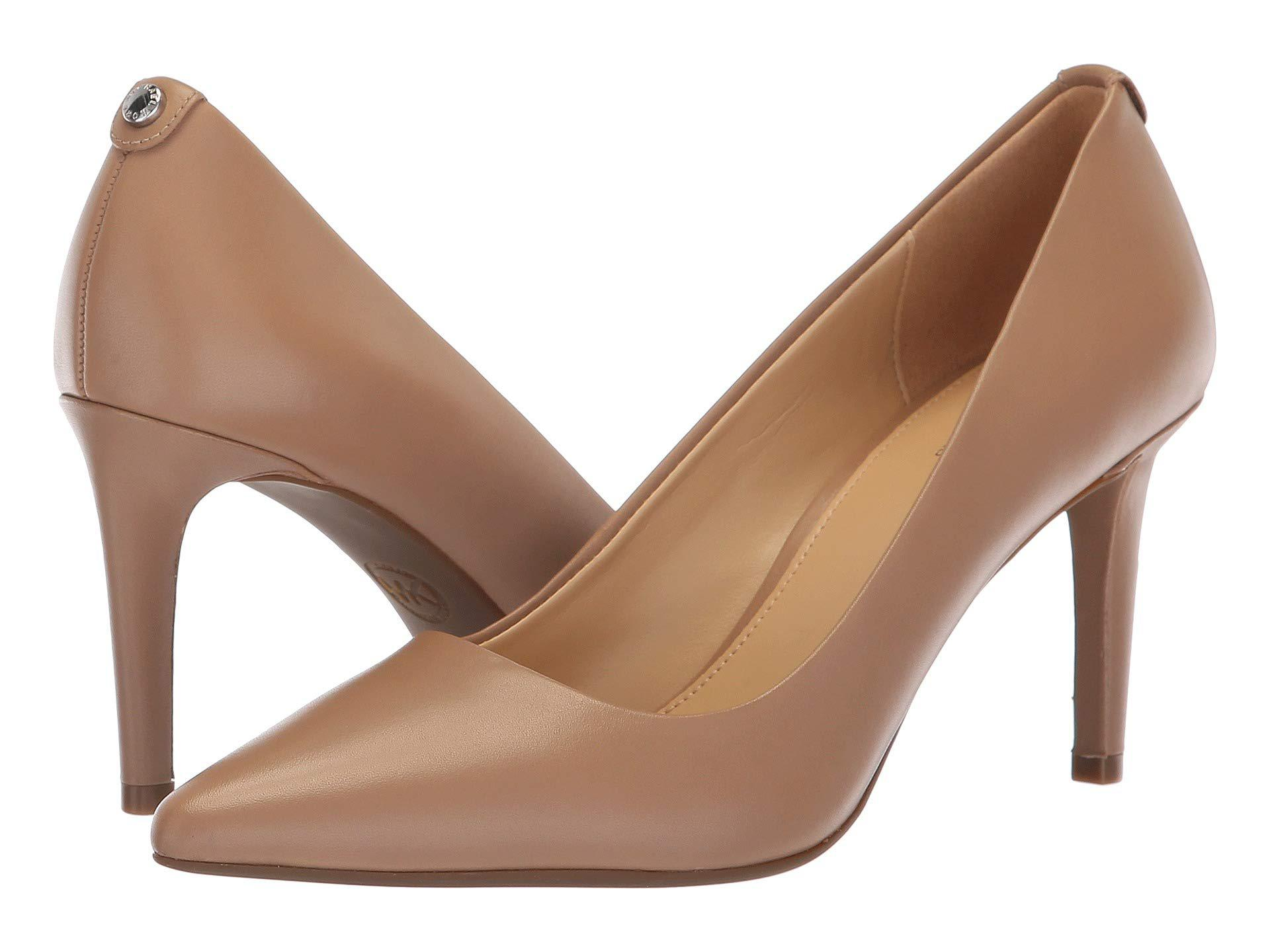 7a72852a1f67 MICHAEL Michael Kors. Natural Dorothy Flex Pump (dark Khaki Vintage Leather)  Women s Shoes
