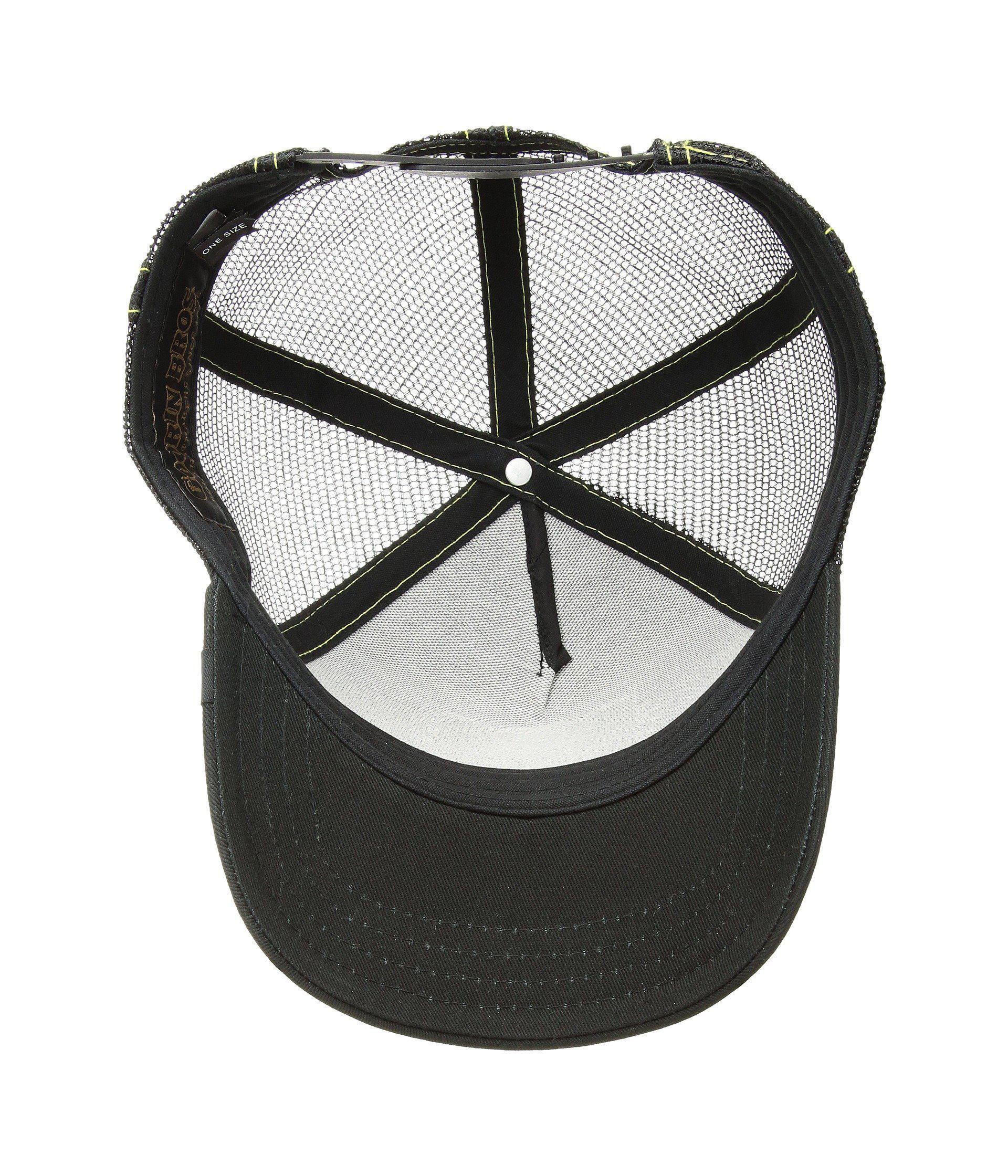 Lyst - Goorin Bros Animal Farm Snap Back Trucker Hat (olive Donkey) Caps in  Black for Men b1de846f64bf