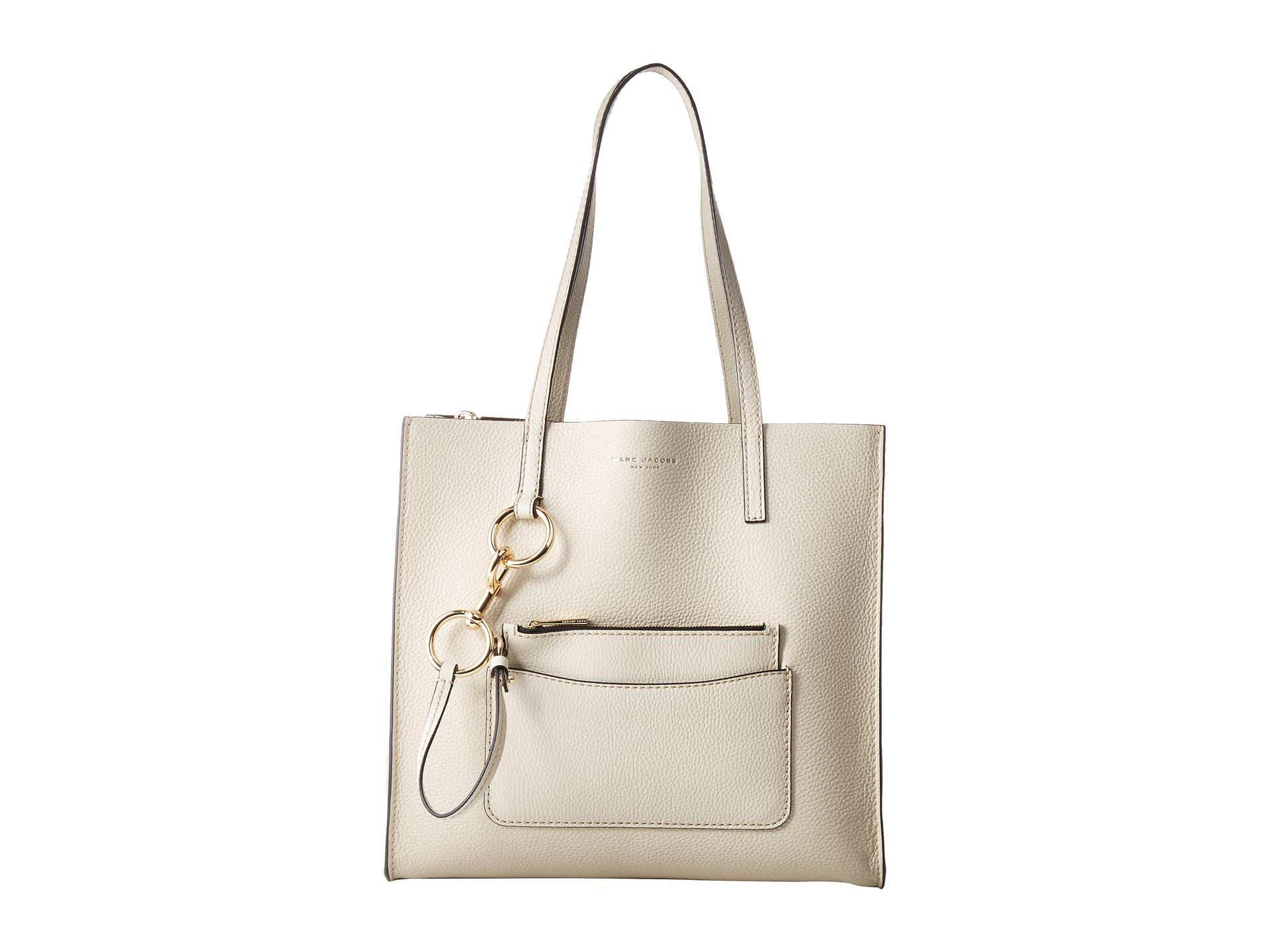 0bf73ffdd470 Lyst - Marc Jacobs The Bold Grind East west Shopper in White