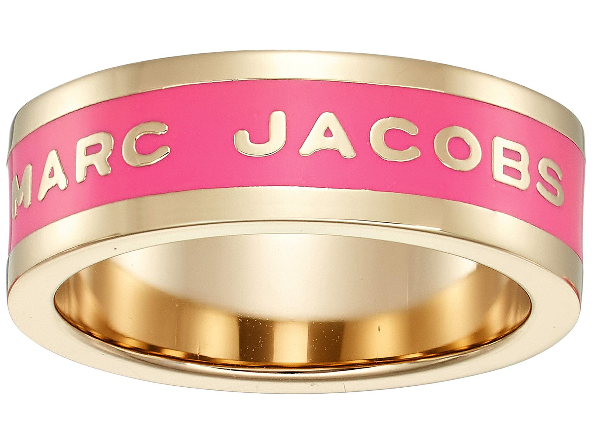 Lyst - Marc Jacobs Band Logo Disc Ring