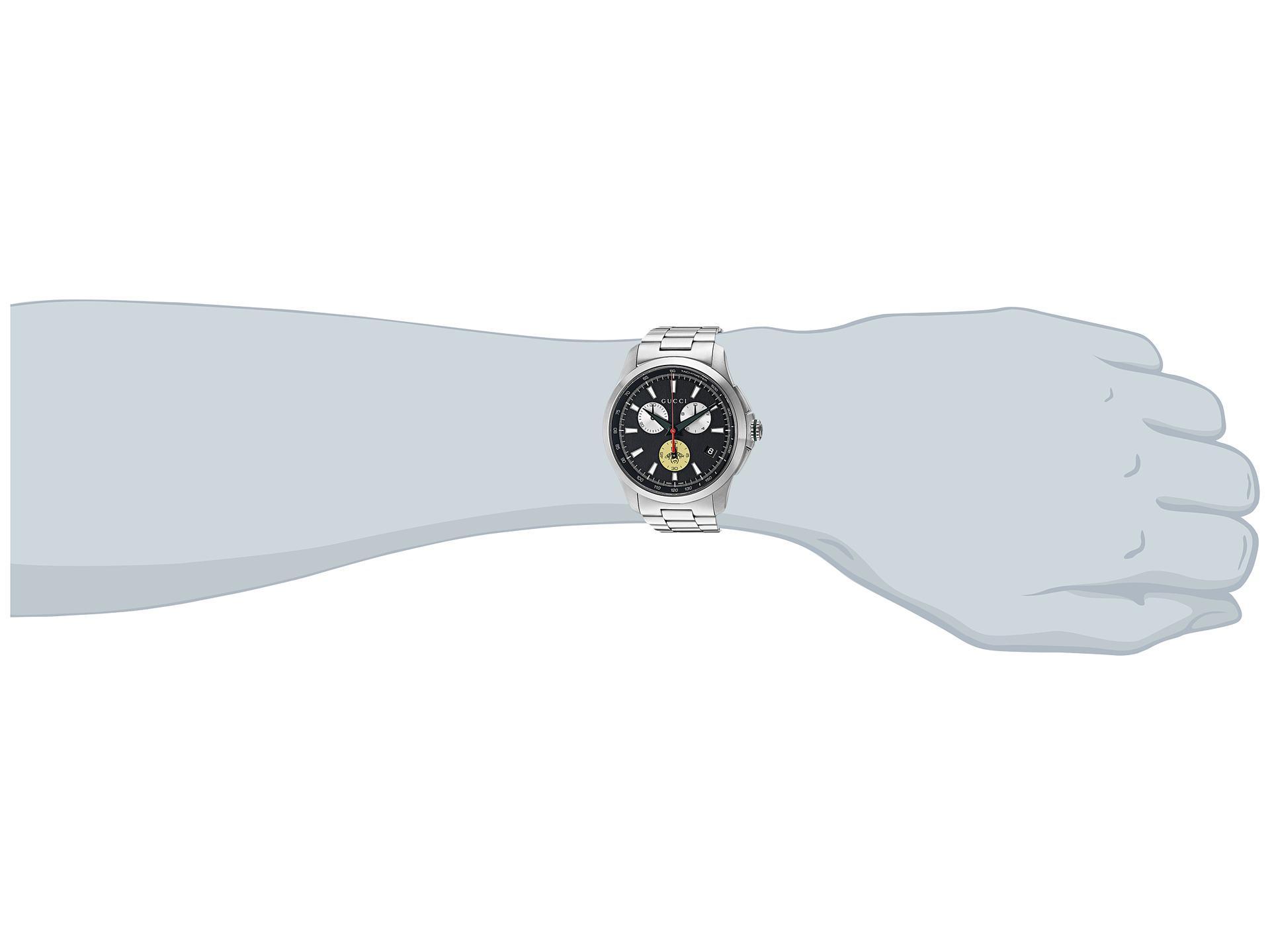 41614ac9727 Lyst - Gucci G-timeless 44mm Bracelet - Ya126267 for Men