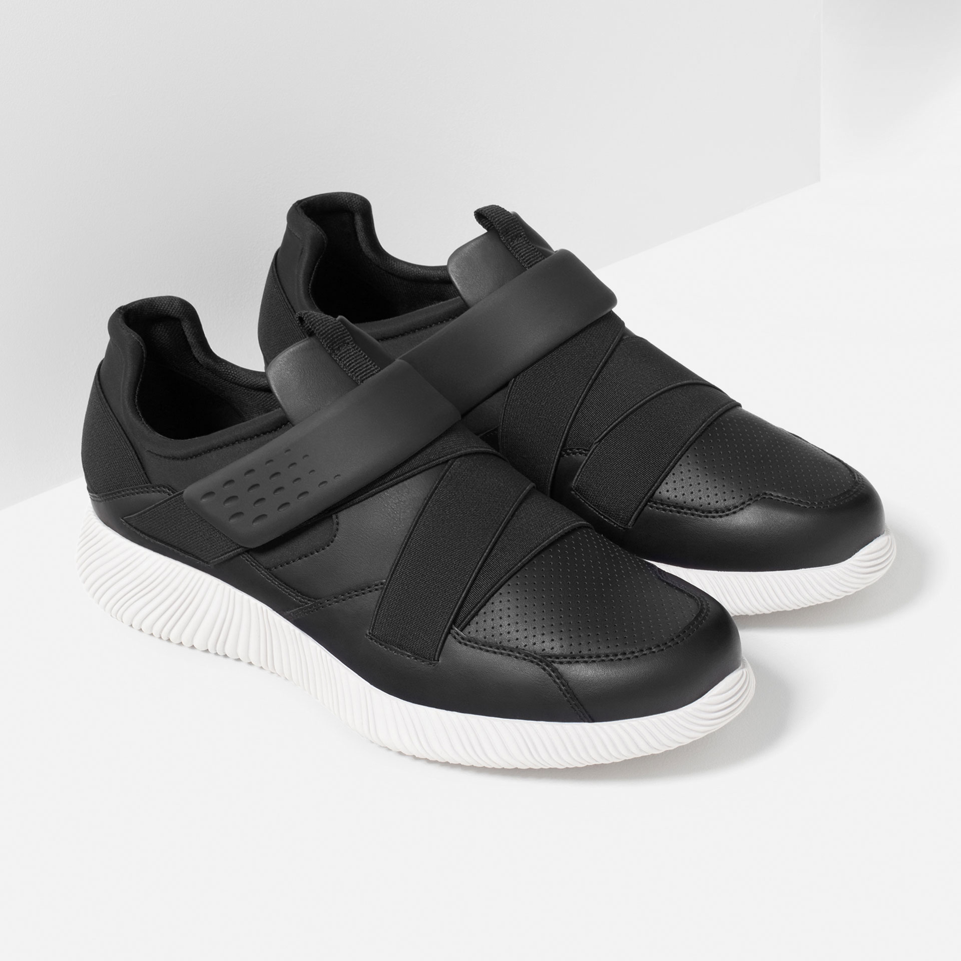 Zara Hook And Loop Sneakers Hook And Loop Sneakers in ...