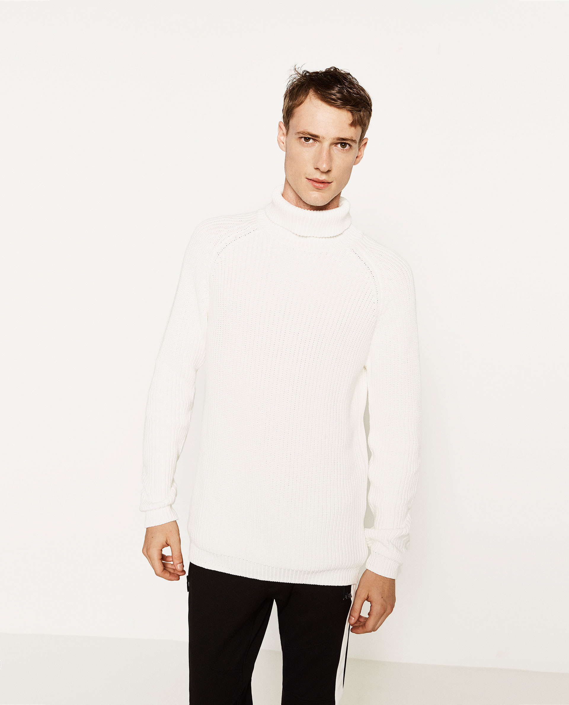 Zara Turtleneck Sweater Mens 93