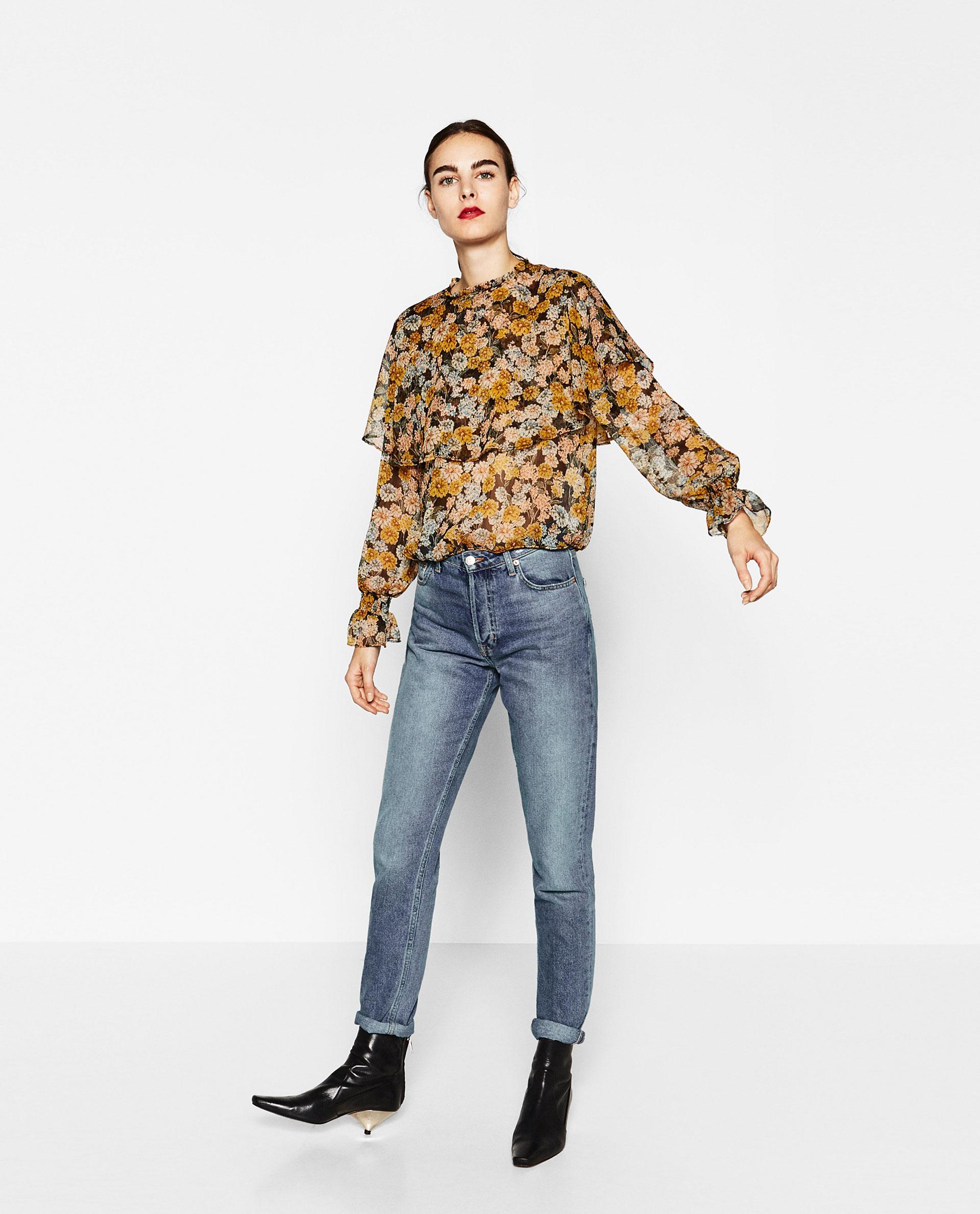 Zara High Neck Blouse 58