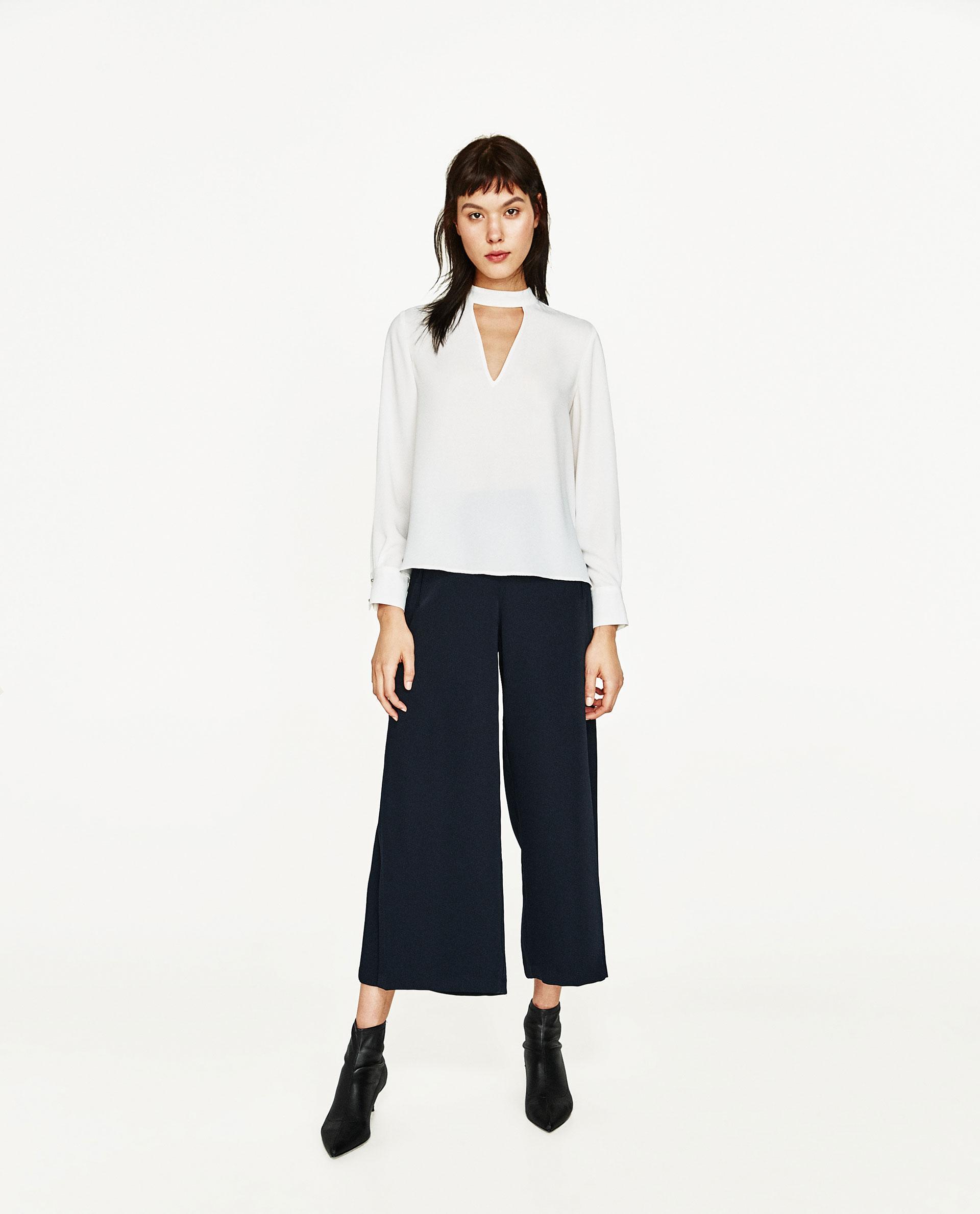Zara V Neck Blouse 111