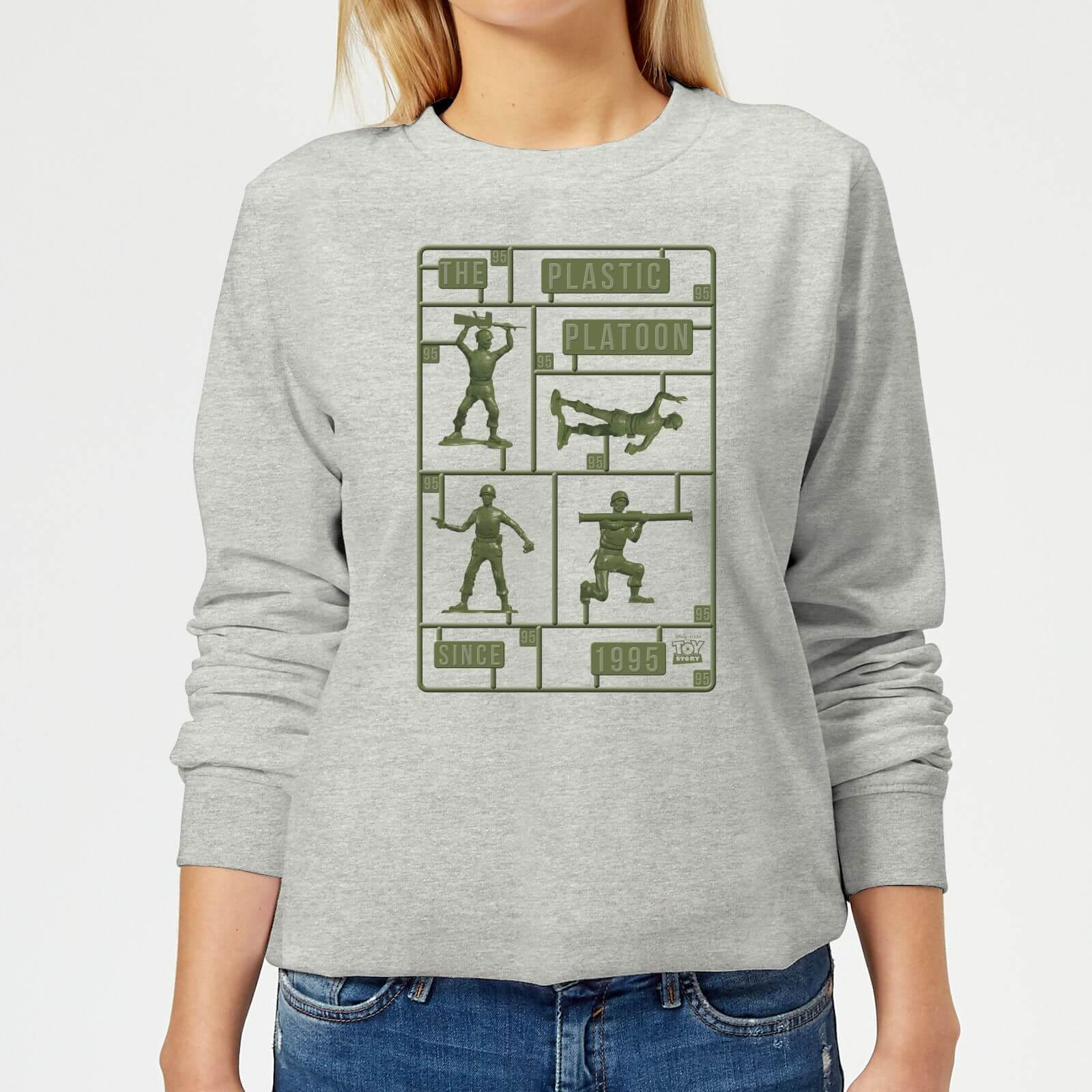 1c1589eb0cd Disney Toy Story Plastic Platoon Sweatshirt in Gray - Lyst