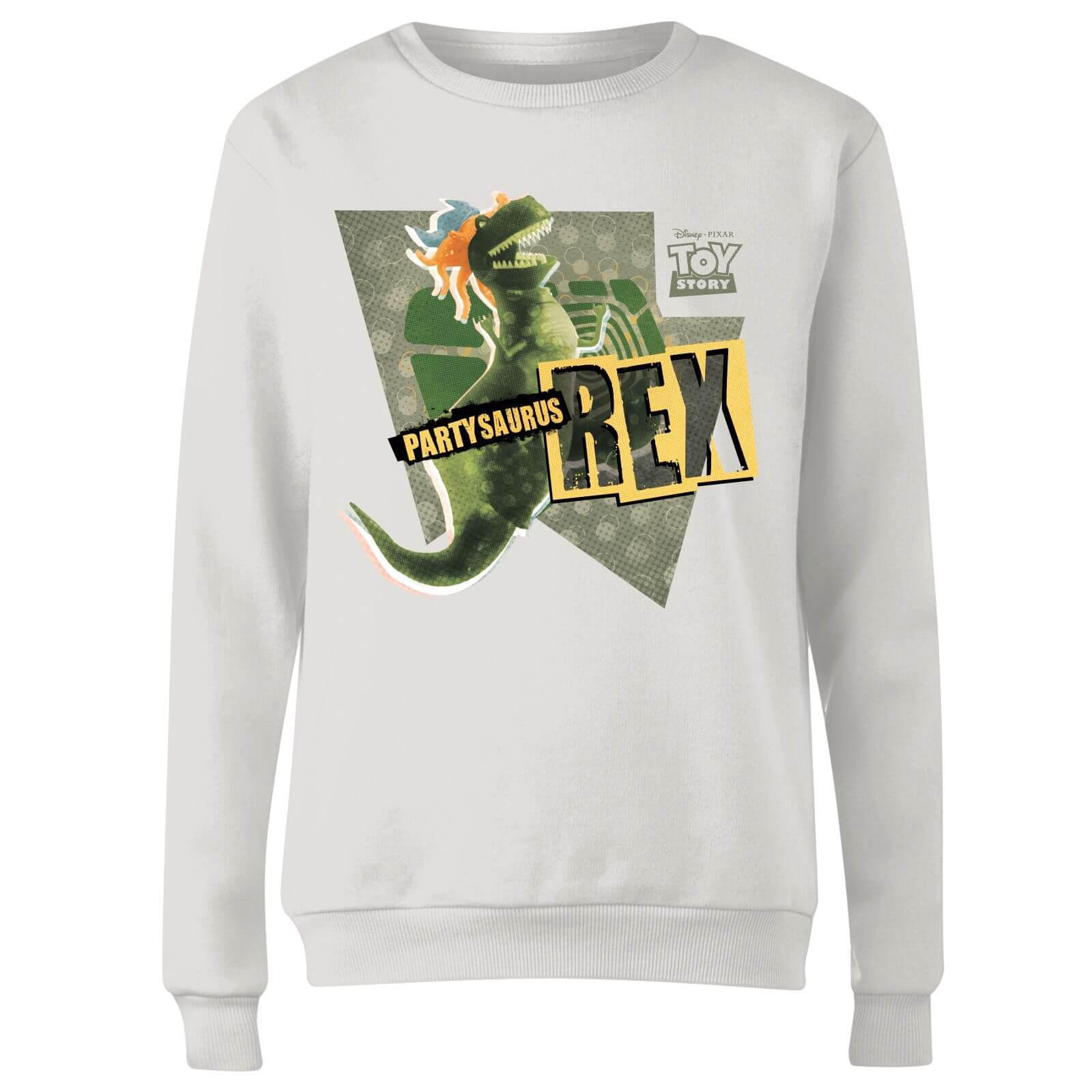 77d792a26ed Disney - White Toy Story Partysaurus Rex Sweatshirt - Lyst. View fullscreen